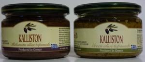 KALLISTON - Grünes oder Kalamata Olivenpesto