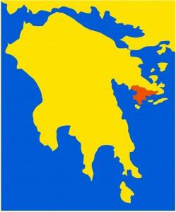 Die Region Kranidi